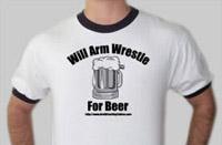 Arm-wrestling t-shirt