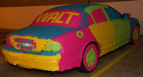 Post it car