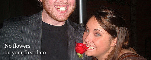 Read this before bringing flowers to a first date