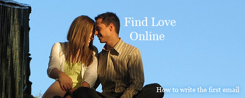 How to write first email online dating to a guy