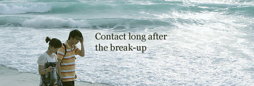 Contact after the break up